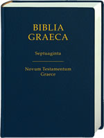 Biblia Graeca, Nestle-Aland and Septuagint